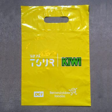TV2 - plastikpose med tryk