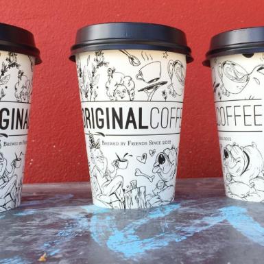 Original Coffee - Papkrus med tryk